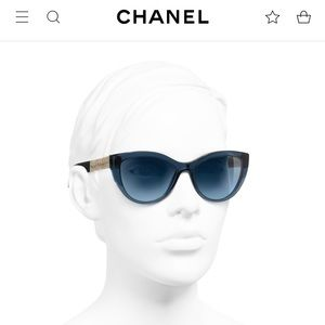 "💙$700. Chanel ""2019"" In Stores now Blue Cat NWD!"